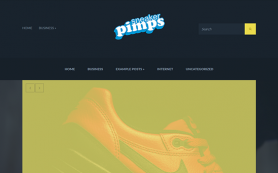 Sneakerpimps Free WordPress Theme