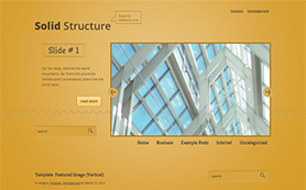 SolidStructure Free WordPress Theme