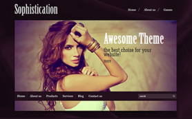 Sophistication Free WordPress Theme