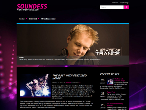 Soundess WordPress Theme