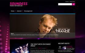 Soundess Free WordPress Theme