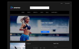 Sportez Free WordPress Theme