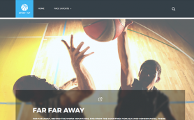 SportUp Free WordPress Theme