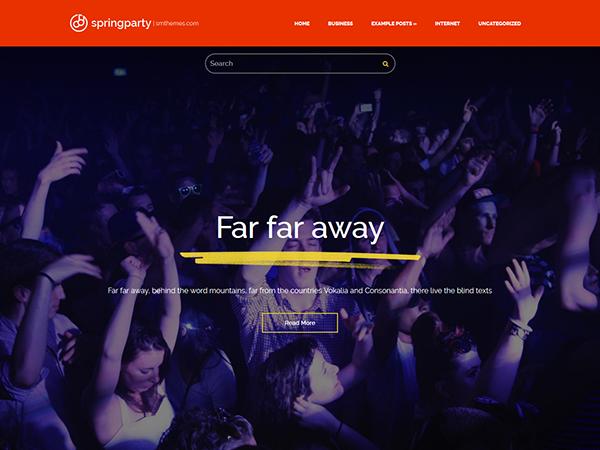 SpringParty WordPress Theme