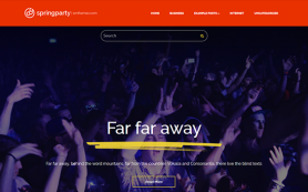 SpringParty Free WordPress Theme