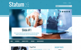 Statum Free WordPress Theme