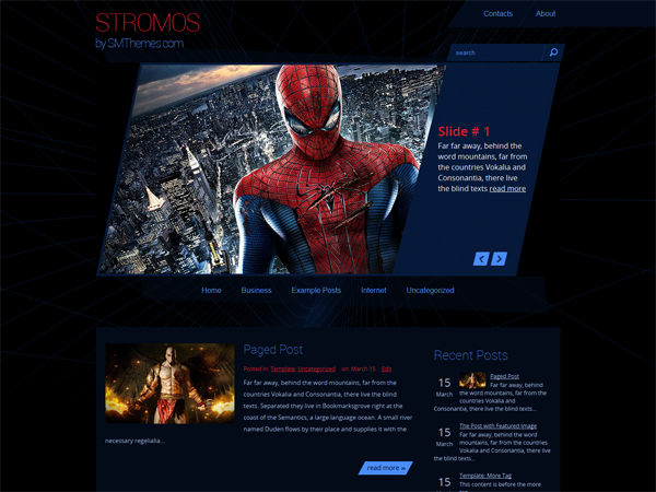 Stromos Free WordPress Theme