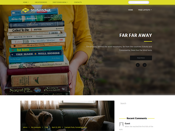 StudentChat WordPress Theme