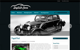 StylishCars Free WordPress Theme