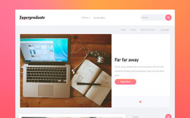 SuperGraduate Free WordPress Theme