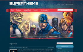 SuperTheme Free WordPress Theme