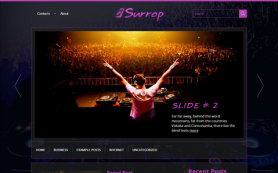 Surrop Free WordPress Theme