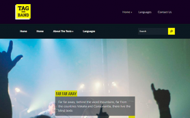 TagBand Free WordPress Theme