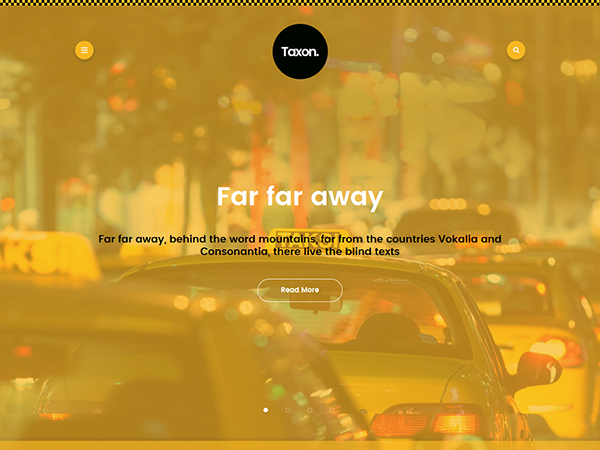 Taxon Free WordPress Theme