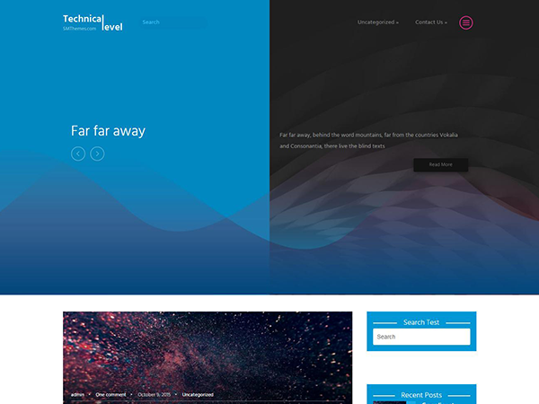 TechnicalLevel WordPress Theme