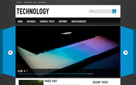Technology Free WordPress Theme