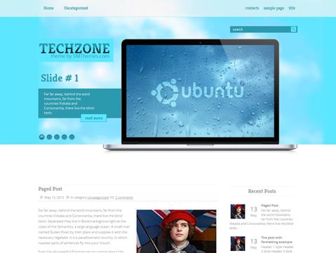 TechZone WordPress Theme