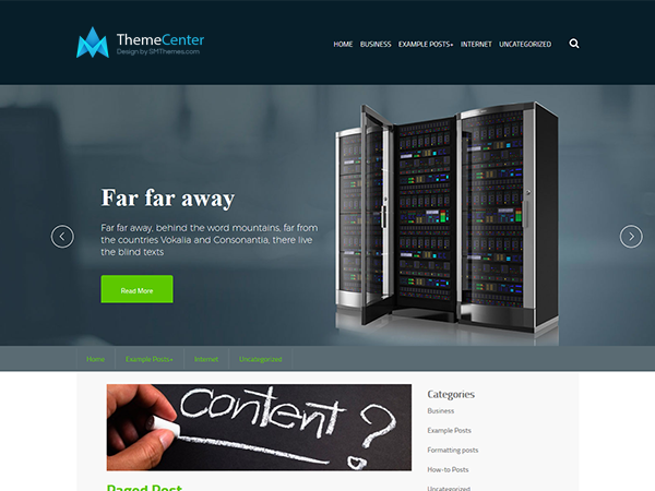 ThemeCenter Free WordPress Theme