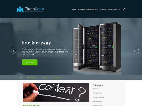 ThemeCenter WordPress Theme