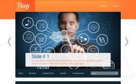 Tlogy Free WordPress Theme