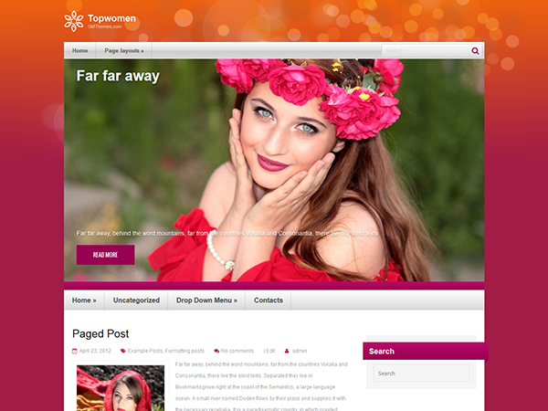 TopWomen Free WordPress Theme