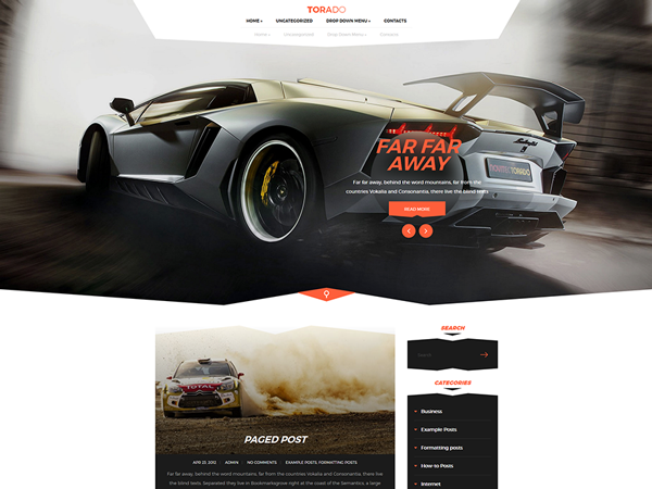 Torado WordPress Theme