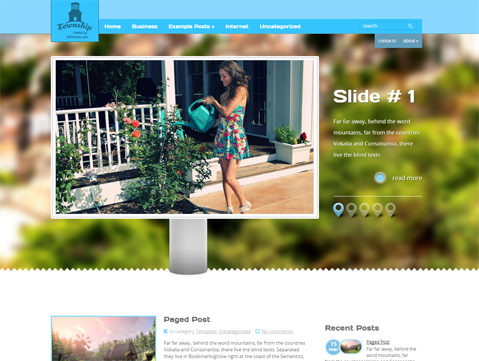 Township Free WordPress Theme
