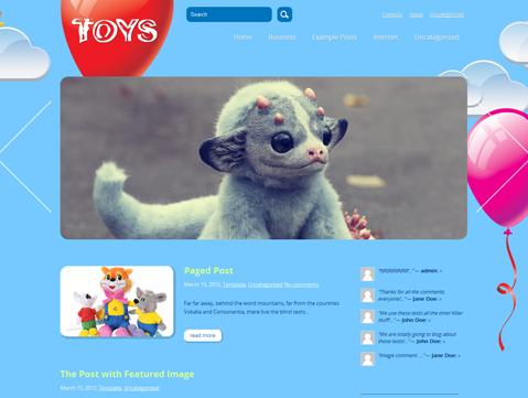 Toys WordPress Theme