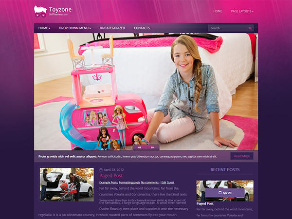 ToyZone Free WordPress Theme