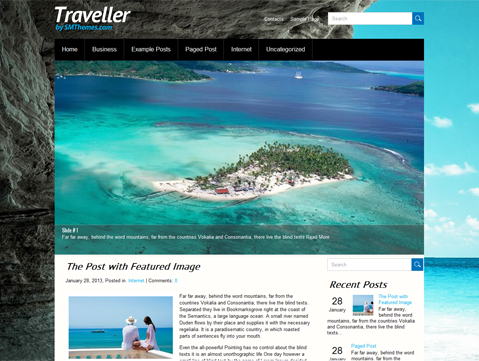Traveller Free WordPress Theme