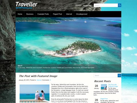 Traveller WordPress Theme