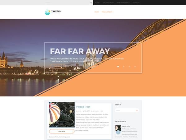 Travelo WordPress Theme