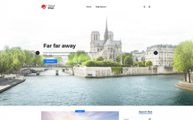 TravelShot Free WordPress Theme