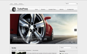 TurboPress Free WordPress Theme