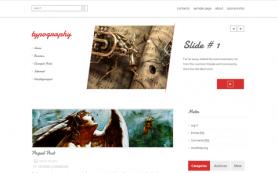 Typography Free WordPress Theme