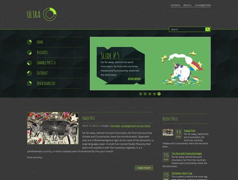 Ultra Free WordPress Theme