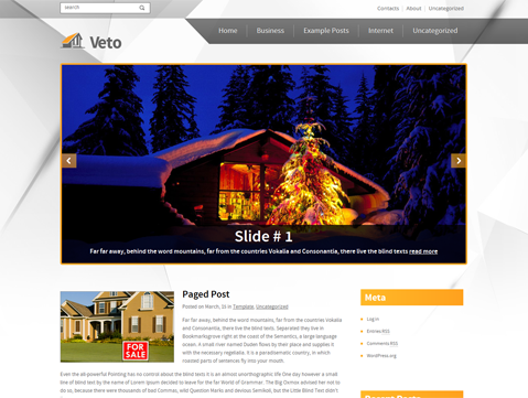 Veto Free WordPress Theme