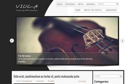 Viola Free WordPress Theme