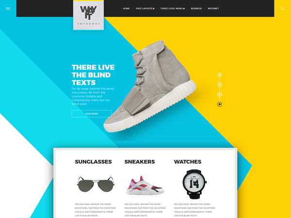 WayIt WordPress Theme