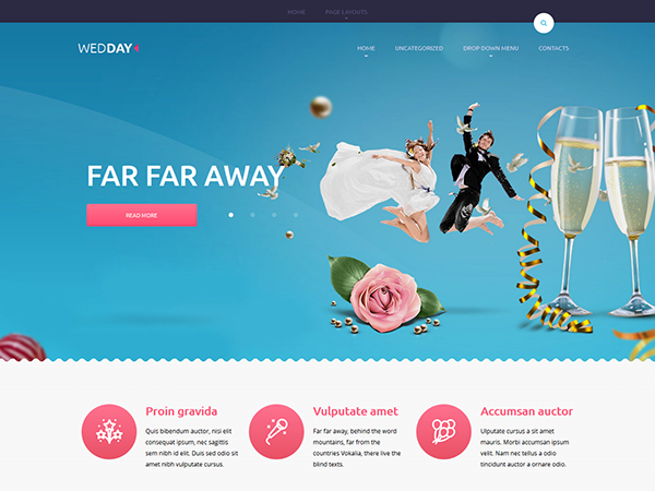 Wedday WordPress Theme