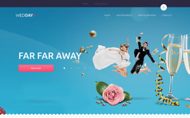 Wedday Free WordPress Theme