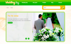 WeddingDay Free WordPress Theme
