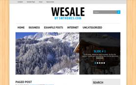WeSale Free WordPress Theme