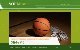 WillPower Free WordPress Theme