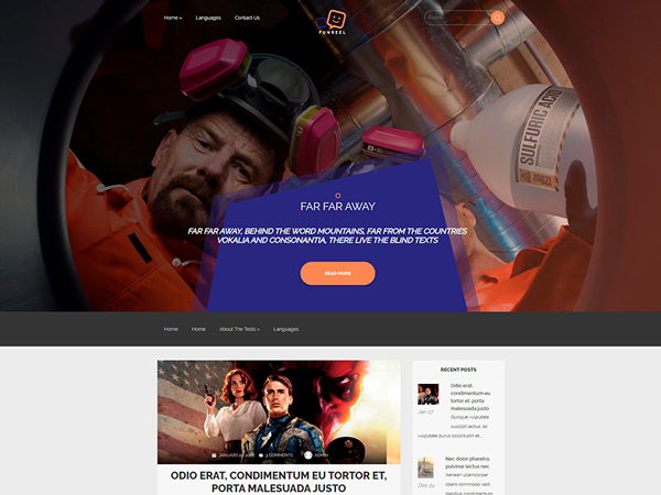 WithFun Free WordPress Theme