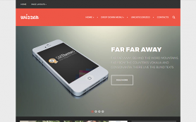 Wizzer Free WordPress Theme