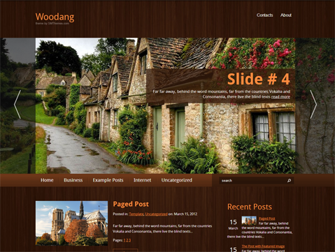 Woodang Free WordPress Theme