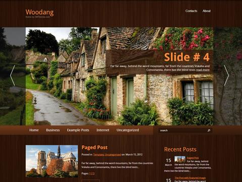 Woodang Free WordPress Theme