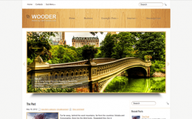 Wooder Free WordPress Theme