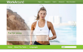 WorkAround Free WordPress Theme